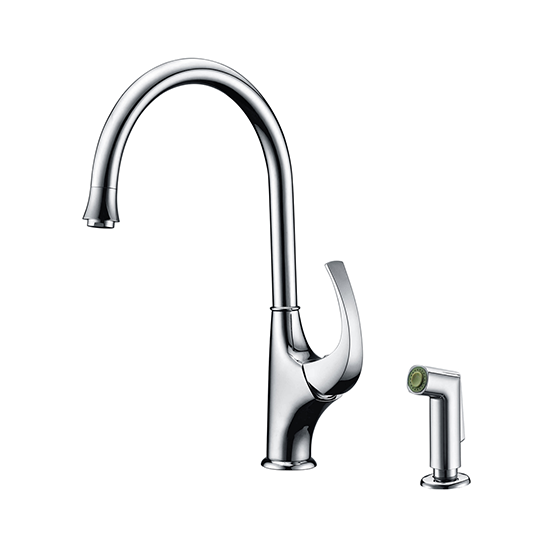 AB04 3276 Single-Handle Kitchen Faucet With Side-Spray