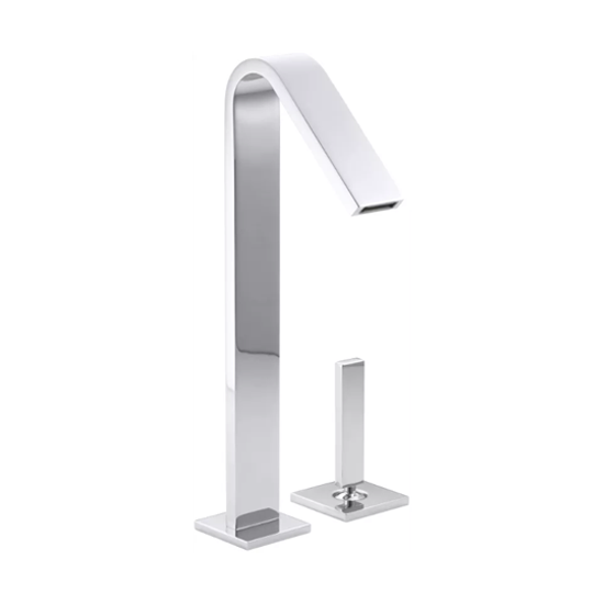 Loure Tall Single Lever Handle Bathroom Faucet
