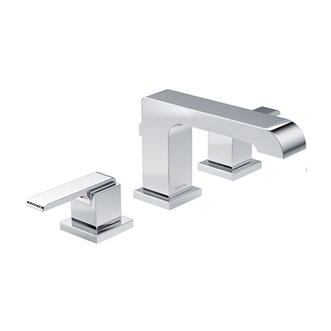 Ara Two-Handle Widespread Bathroom Faucet