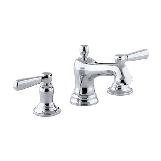 KOHLER | K-10577-4 | Bancroft Two-Handle Widespread Bathroom Faucet ...