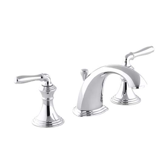 Devonshire Two Handle Widespread Bathroom Faucet With Drain Assembly