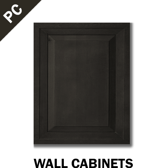 PARAMOUNT CHARCOAL GREY - WALL CABINET