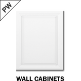 PARAMOUNT WHITE - WALL CABINET