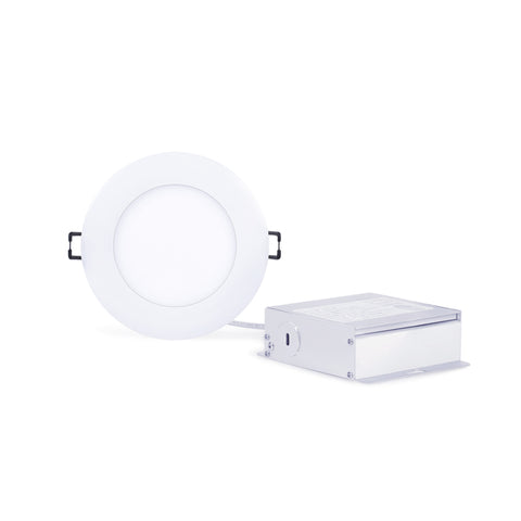 "4"" LED Slim Panel Downlight - 3000K / 650lm"