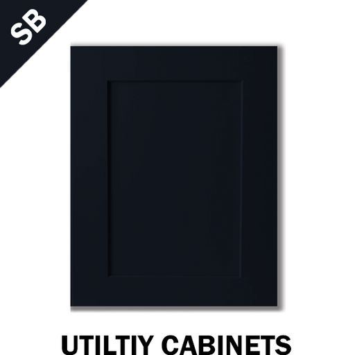 SHAKER NAVY BLUE - UTILITY CABINET