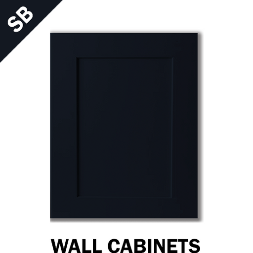 SHAKER NAVY BLUE - WALL CABINET