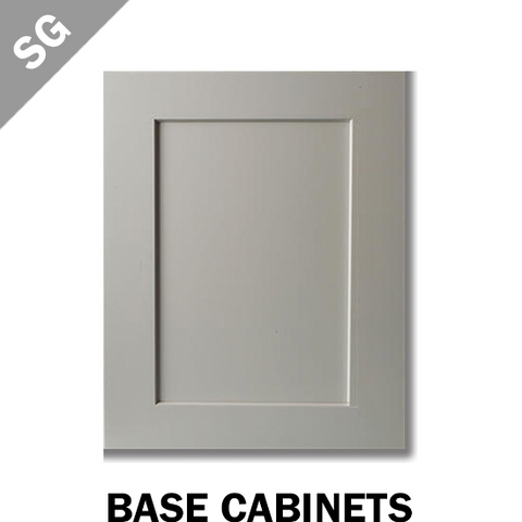 SHAKER PEARL GREY - BASE CABINET