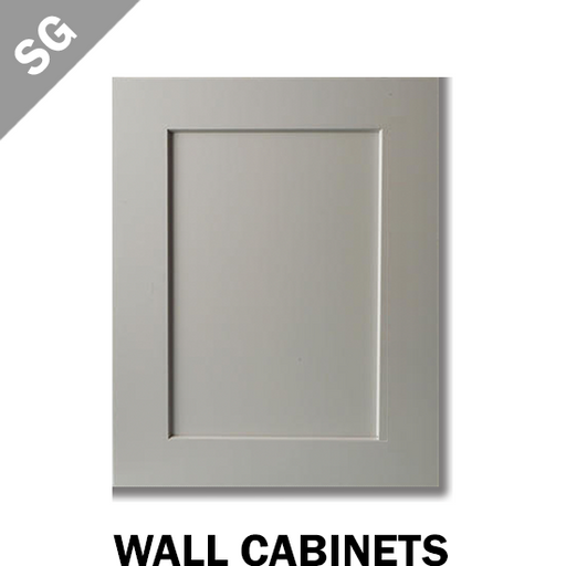 SHAKER PEARL GREY - WALL CABINET