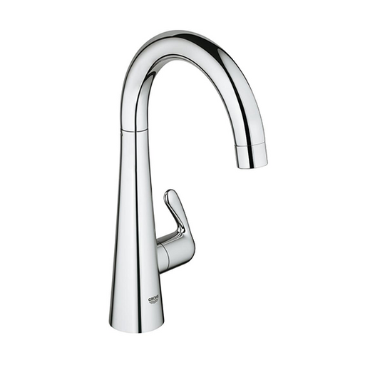 Zedra Single-Hole Single-Handle Swivel Kitchen Faucet