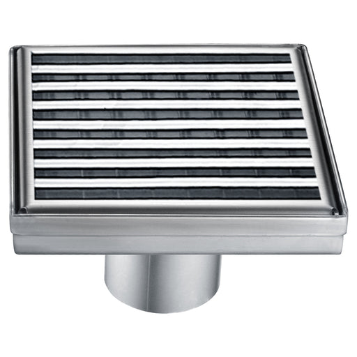 Wheaton River Series Square Shower Drain 5L