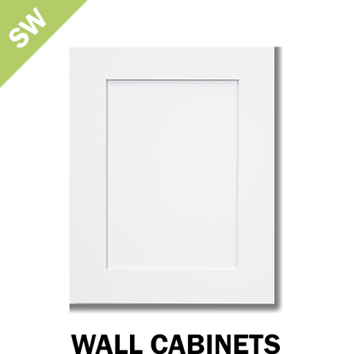 SHAKER WHITE - WALL CABINET