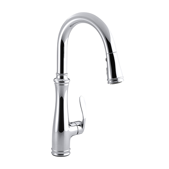 Bellera Pull Down Sprayer Single Handle Kitchen Faucet