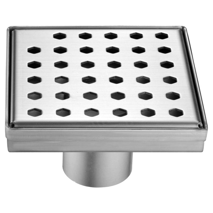 Thames River Series Square Shower Drain 5L x 5W