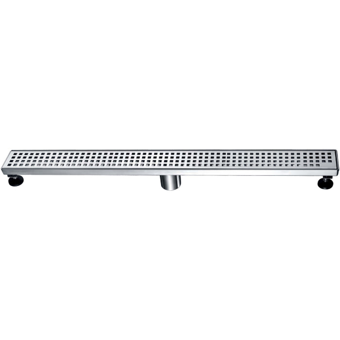 "Brisbane River Series Linear Shower Drain (12,24,32,36,47""L)"