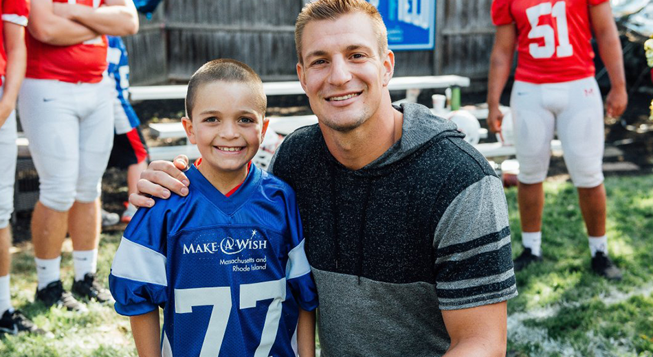 Gronk and Make a Wish Team Up | Gronk Nation