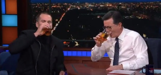 Brady Proves He's Better Than You at Everything - Even Chugging Beer