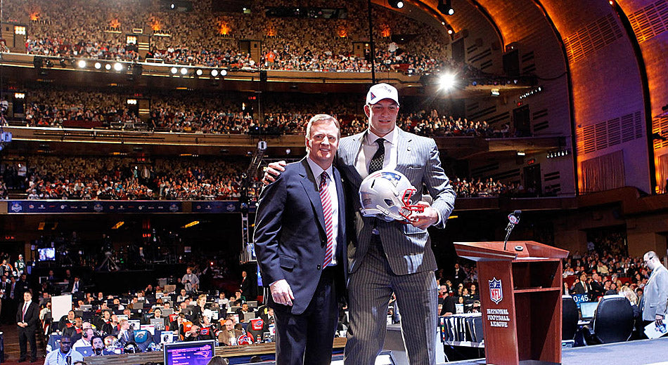 Remember When Gronk Made the NFL Draft the Most Hyped Place Ever?