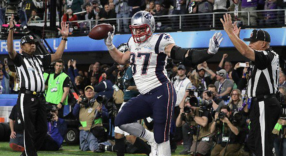 Relive Gronk's Mind-Blowing Super Bowl LII Performance