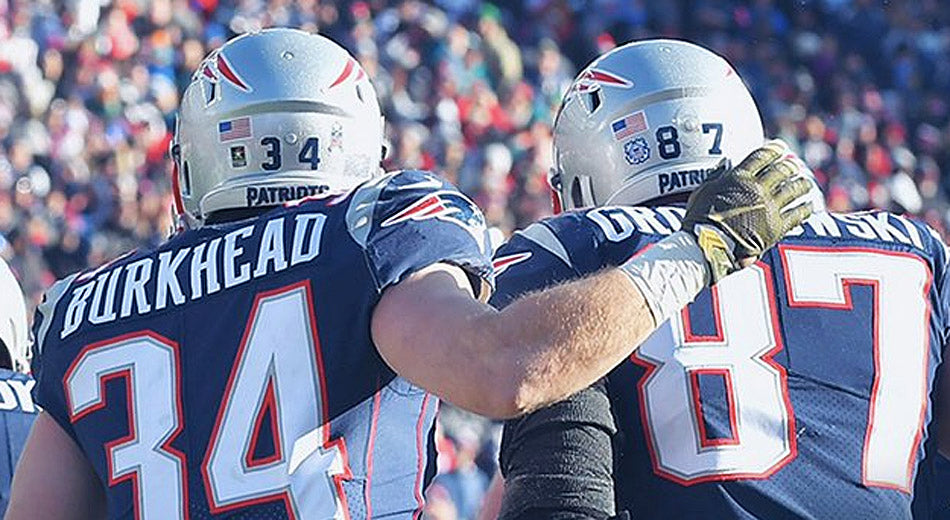 Dolphins Get Served a Double Dose of 'Brady to Gronk'