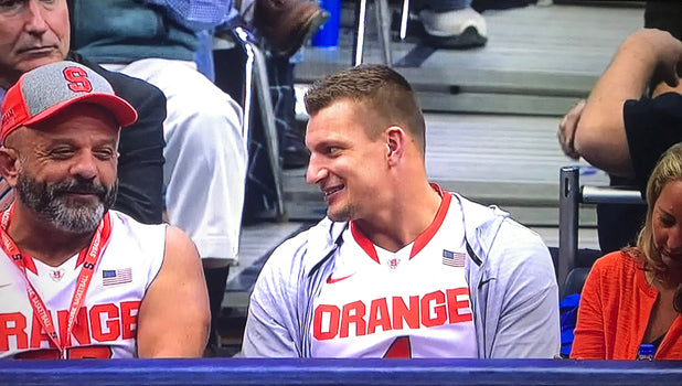 Gronk Boys Get Decked Out In Orange To Cheer On Syracuse