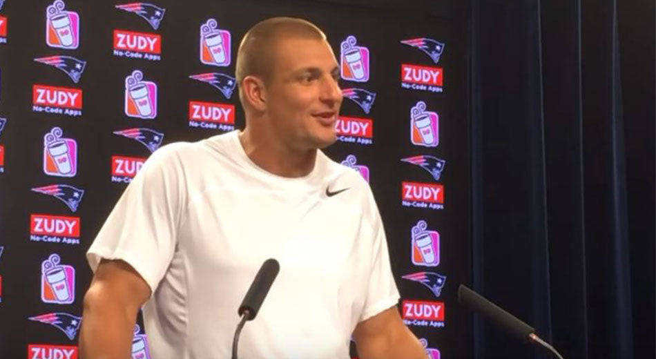Gronk Says He Could Play Defense | Gronk Nation
