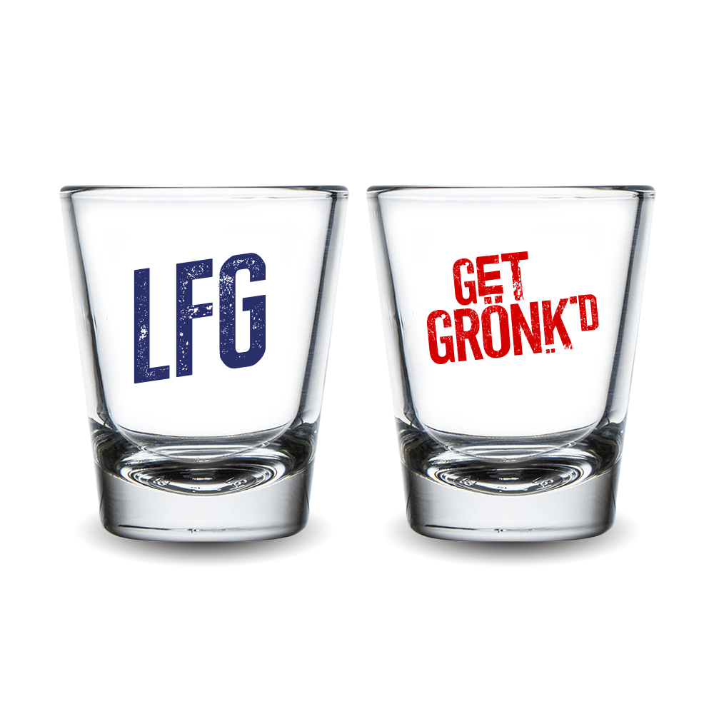 Gronk's Celebration Shot Glasses (Pack of 2)
