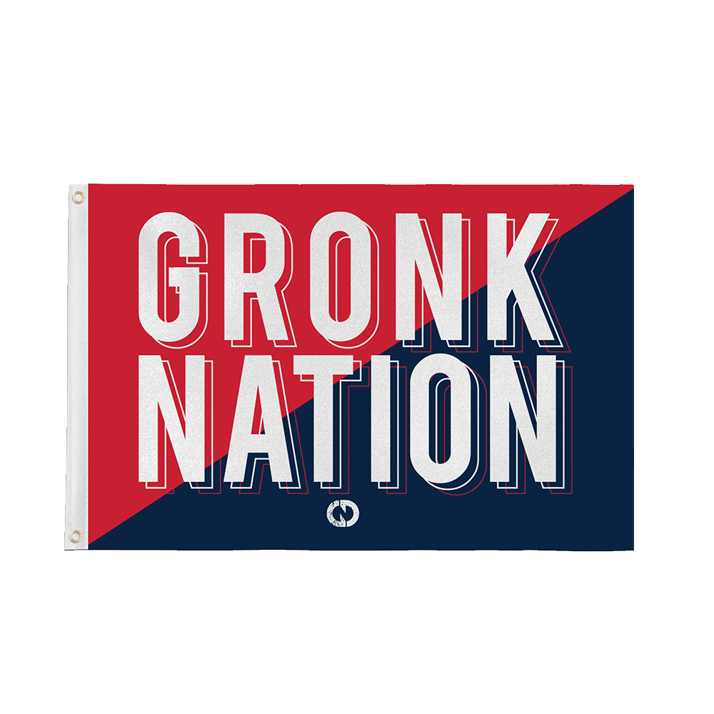Red, White & Gronk Flag