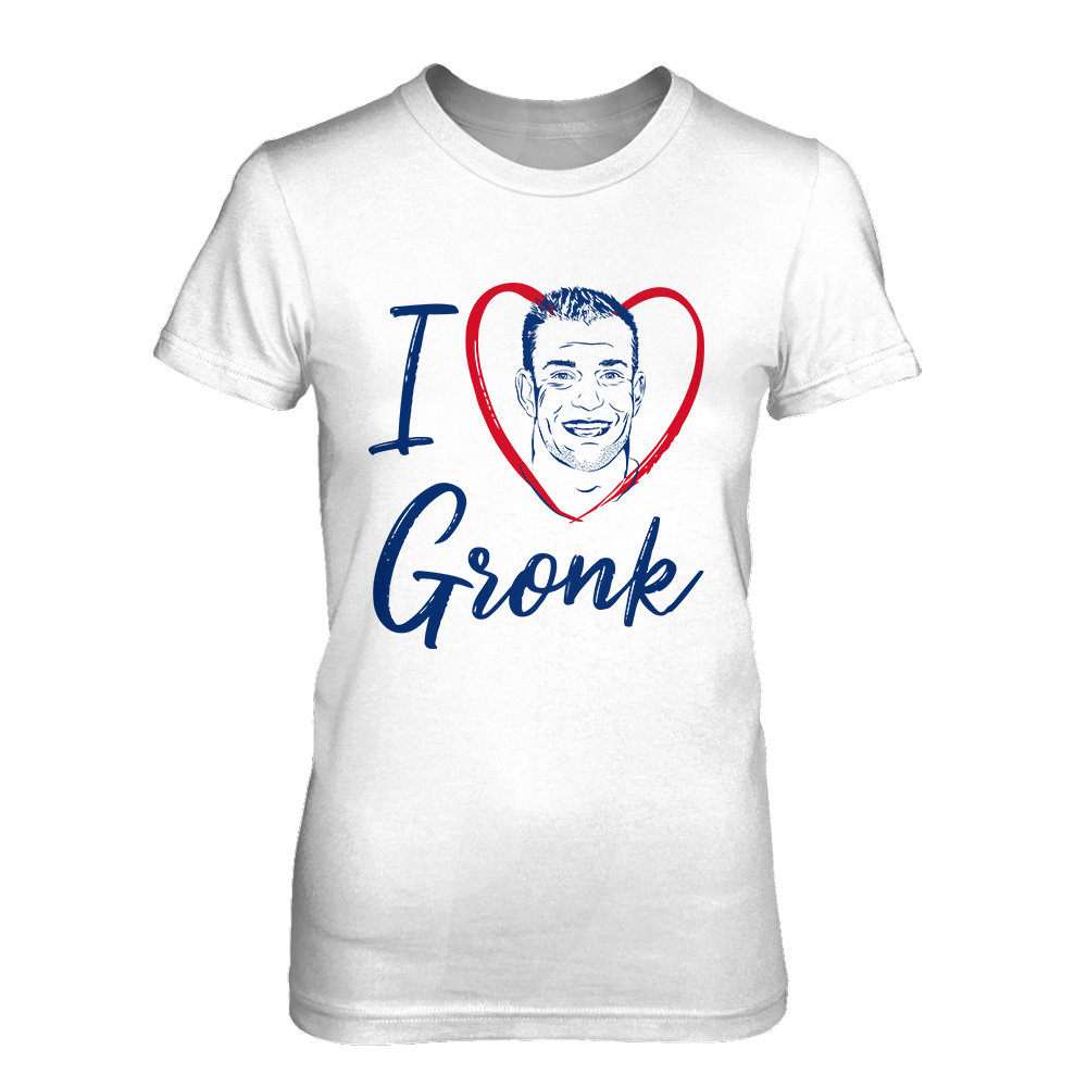 Women's I Love Gronk