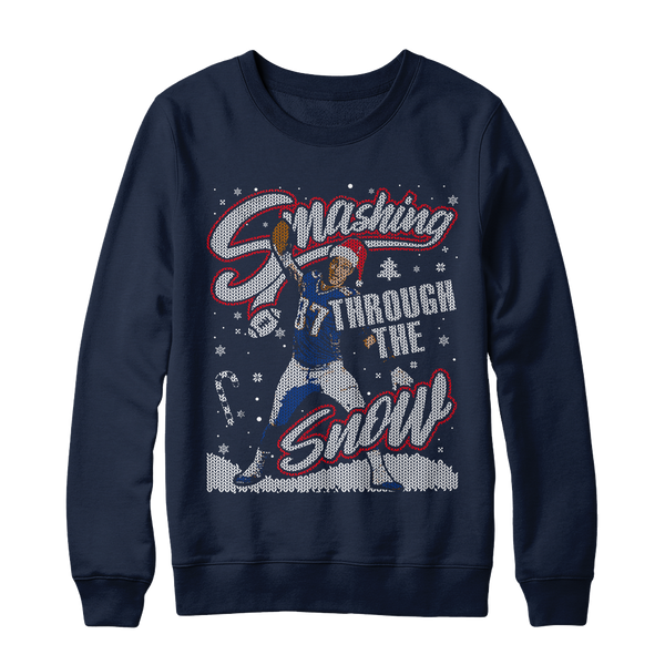 Smashing Through The Snow Holiday Sweatshirt