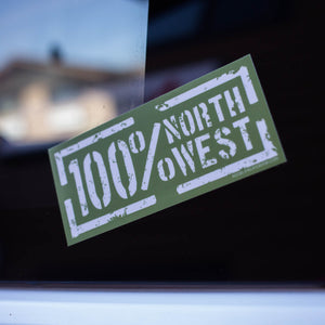 100 Percent NorthWest Sticker