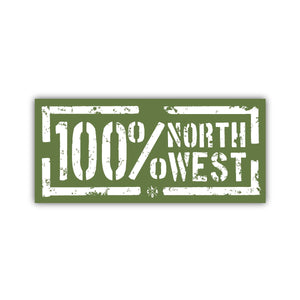 100 Percent North West Sticker