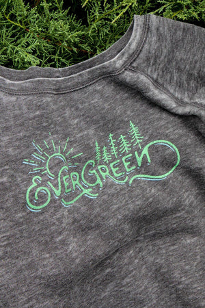 Evergreen - Wide Neck Sweatshirt
