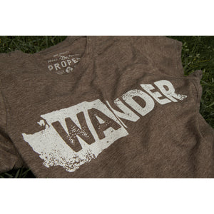 WAnder Washington Womens T-Shirt - Secondary