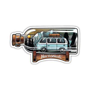 Northwest In A Bottle Sticker