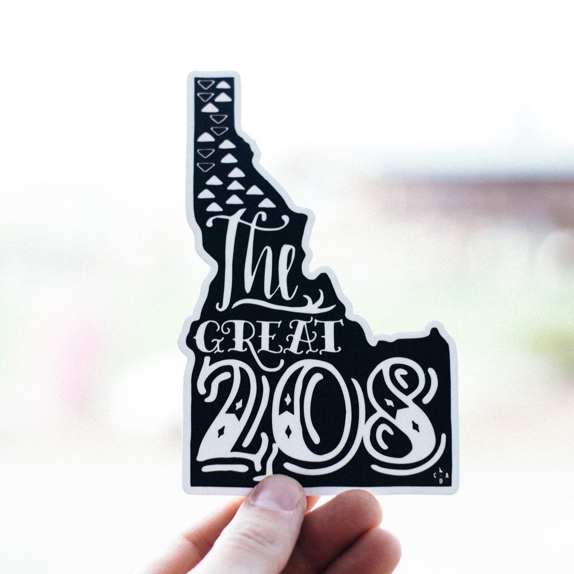 The Great 208 Sticker