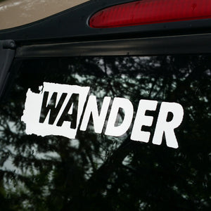 WAnder Washington Cut Vinyl Decal