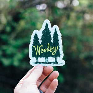 Woodsy Sticker