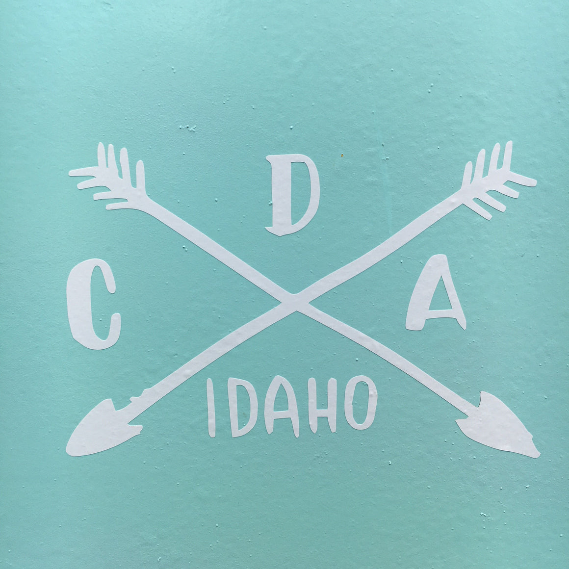 CDA Camping Logo Decal