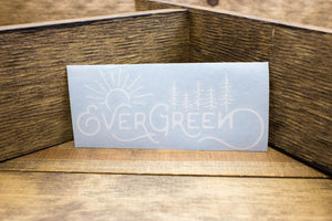 Evergreen Decal