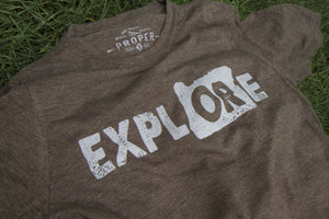 Explore Oregon Womens T-Shirt - Secondary