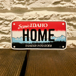 Idaho License Plate Sticker