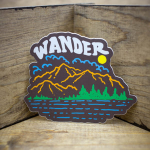 Wander View Stickers