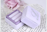 Ring Box in Lavender Orchid Velvet