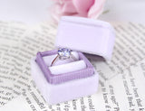 Orchid Wedding Ring Box