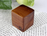 Wood Ring Box Made from Cedar
