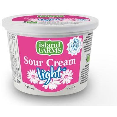 Island Farms 250ml Sour Cream Light