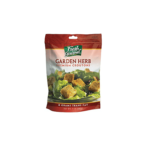 Fresh Gourmet Garlic Herb Croutons