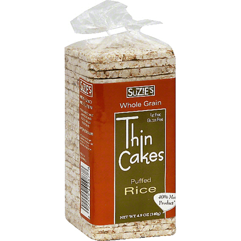 Suzie Brown Rice Thin Cakes