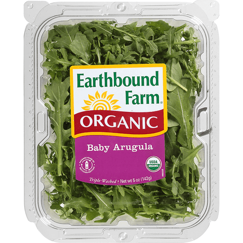 Baby Arugula Earthbound Organic Farm  5oz