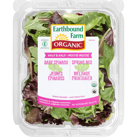 Spring Mix Earthbound Organic Farm 5oz